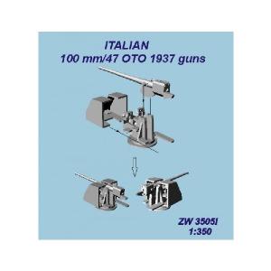 100MM/47 OTO 1937 GUNS