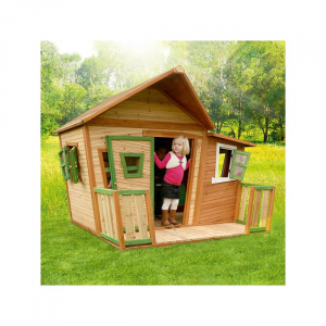 Casetta per Bambini con Veranda in Legno di Cedro LISA di AXI
