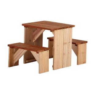 Tavolo gioco Set Picnic ZidZed in legno di AXI