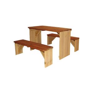 Tavolo gioco Set Picnic ZidZed XL in legno per giardino di AXI