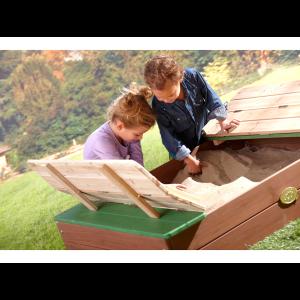 Box Sabbiera Ella con panca di Axi Gioco per bambini