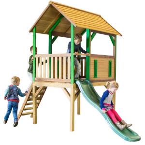 Casetta per Bambini in Legno di Cedro SAFARI BOGO AXI