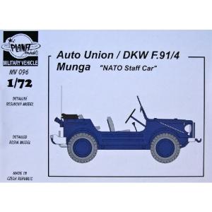 AUTO UNION/DKW F.91/4 MUNGA NATO STAFF