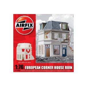 EUROPEAN RUINED CORNER HOUSE