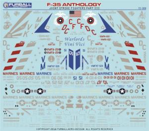 F-35 Anthology Part III (USMC Lockheed-Martin F-35B Lightning IIs and one F-35B of the Italian Navy)