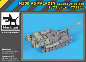 M109 A6 Paladin accessories set (RIICH MODEL)