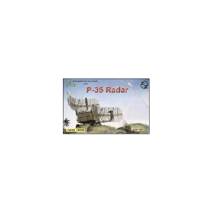 P-35 SOVIET RADAR, RESIN/PE