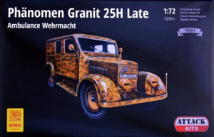 Phanomen Granit 25H Late Ambulance Wehrmacht