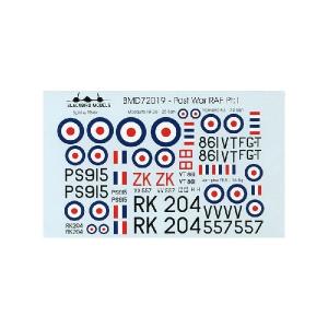 POST WAR RAF PT.1