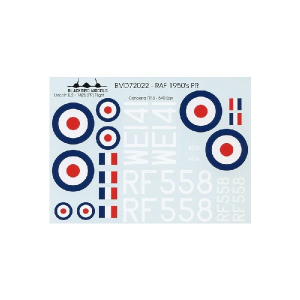RAF 1950'S PR