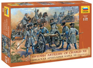 Swedish artillery of Charles XII