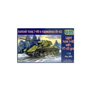 T-80 LIGHT TANK WITH VT-43 GUN