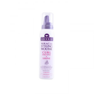 Aussie Hair Curl Define & Shine Styling Mousse 150ml