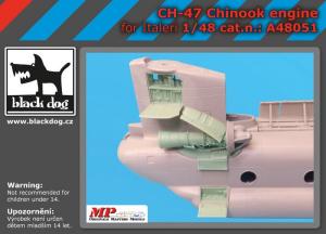 CH-47 Chinook engine (ITALERI)