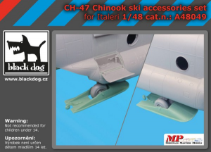 CH-47 Chinook ski accessories set (ITALERI)