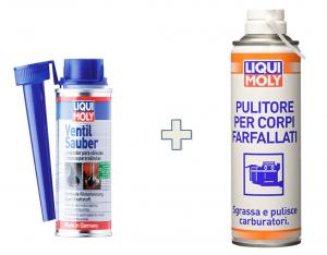 Kit Liquimoly Pulizia Valvole E Carburatore: Valve Clean + Pulitore Corpi Farfallati