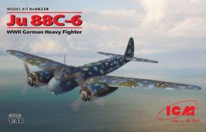 Ju-88C-6 WWII German Heavy Fighter