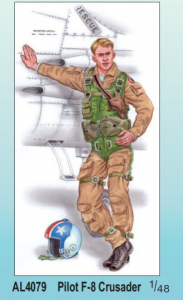 Pilot F-8 Crusader (1 fig.)