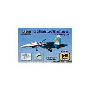 SU-27 FLANKER EALRY TYPE WHEEL BAY SET