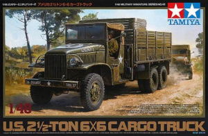 U.S. 2 1/2 TON. 6X6 CARGO