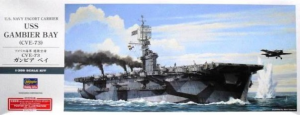 U.S. NAVY ESCORT CARRIER USS GAMBIER BAY