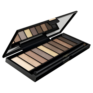 L'Oréal Paris Color Riche La Nude Palette Ombretti 10 Colori, Beige