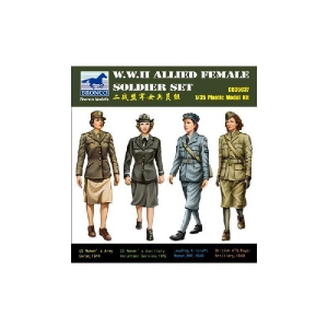 W.W.II ALLIED FEMALE SOLDIER SET