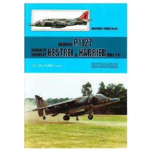 HAWKER P.1127, HAWKER SIDDELEY KESTREL & HARRIER MKS 1-4
