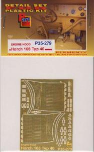 Horch 108 Typ 40 Engine Hood, ICM