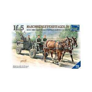 IF-5 HORSE DRAWN MG WAGON