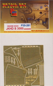 KDH S 3000 Engine Hood, ICM