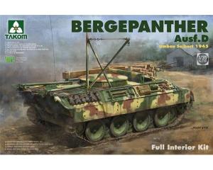 Bergepanther Ausf.D Umbau Seibert 1945 production w/ full interior kit
