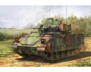 Bradley M3A3 with T-161 track link