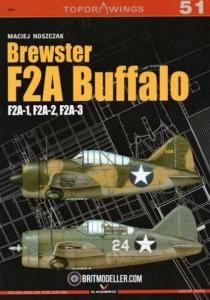 Brewster F2A Buffalo (F2A-1, F2A-2, F2A-3)