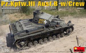 Pz.Kpfw.III Ausf.B w/Crew