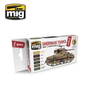Sherman Tanks Vol. 1 (WWII Commonwealth) Set