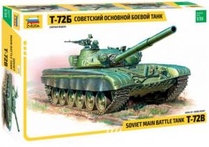 Soviet main battle tank T-72B