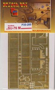 Su-76 fenders / blotniki MiniArt