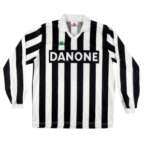 1993-94 Juventus Maglia Home L #3 Primavera Match worn