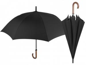 Ombrello Uomo Golf Nero Automatico cm.diam.120
