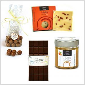 Confezione regalo piccola, simpatica e gustosa idea regalo per tutte le occasioni. Idee regalo n. 1