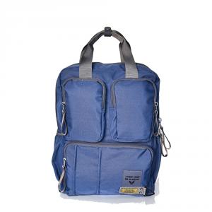 Avirex - Nevada - Zaino porta pc unisex in nylon 2 scomparti blu cod. 16ABL