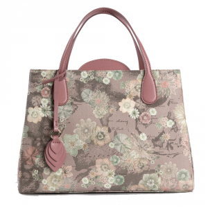 Hand and shoulder bag Alviero Martini 1A Classe FLOR ART GL74 9505 337 ROSA