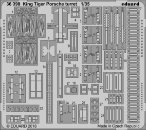 King Tiger Porsche turret MENG