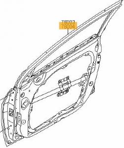 Porta anteriore destra Hyundai i40