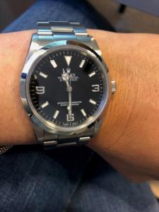 Orolologio secondo polso Rolex Explorer
