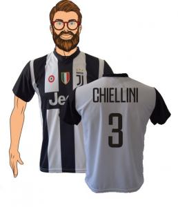 fbea51477 Completo Maglia Chiellini 3 Juventus 2018-19 replica ufficiale Autorizzata