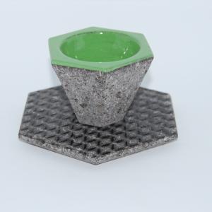 Tazzina da caffè Koinè in pietra lavica