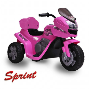 Moto Elettrica Bambini Sprint ROSA 6V
