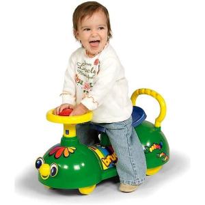Bruco primi passi cavalcabile Biemme, gioco per bambini